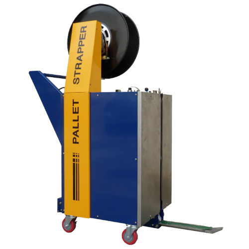 2700 Vertical semiautomatic for pallets by EQM Industrial