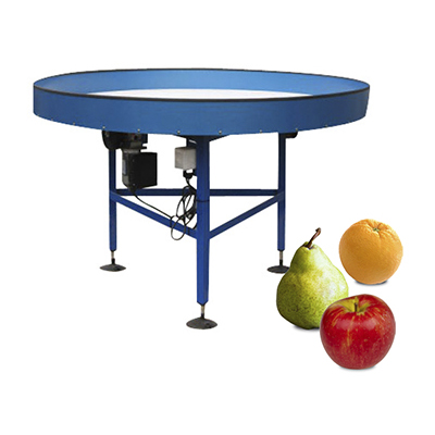 Rotary Tables - Fruit Collection by EQM Industrial